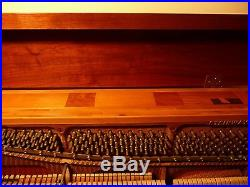 Steinway upright Model F Serial Number 418482. Original owners purchased in 1970