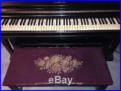 Steinway upright piano 1886