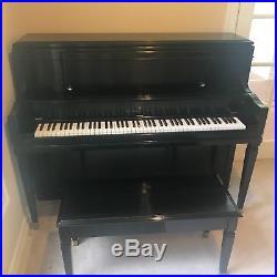Steinway upright piano 2005