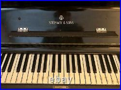 Steinway upright piano circa 1884