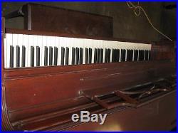 Story & Clark Console Piano