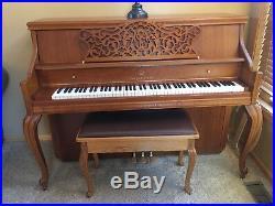 Story & Clark Piano, Seat and Cushion