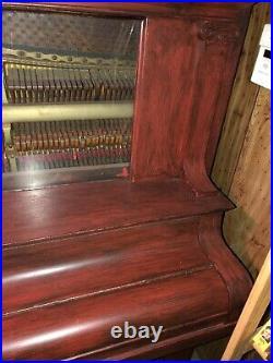 Story & Clark Upright Grand Piano