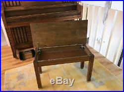 Story & Clark Upright Piano 1982 with Bench, Denver/Evergreen Pickup Only