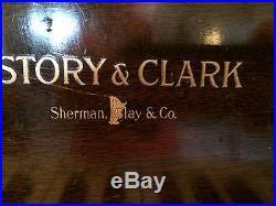 Story & Clark antique Grand Piano 1908