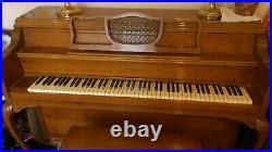Story & Clark upright spinet piano 60's model