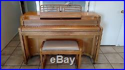 Story and Clark 1947 Upright Piano