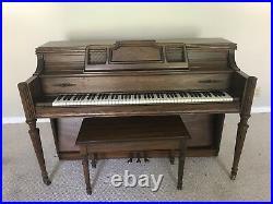 Story clark upright piano
