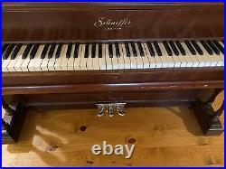 Upright Antique Grand Piano