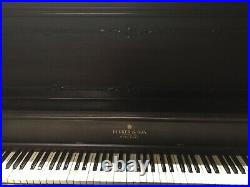 Upright Decker & Son Piano Local Pickup Only