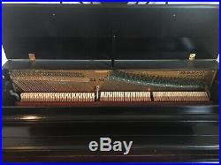 Upright Piano, Sohmer & Son, black, very good condition, Model #32-85