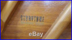Upright Piano Story and Clark Spinet with Tonk Bench