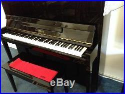 Upright console piano