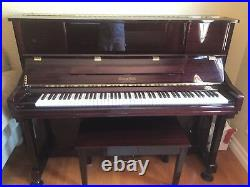 Upright piano george steck