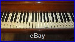 Vintage Baldwin Acrosonic Upright Piano plus bench PICK UP ONLY 1970's Music A+