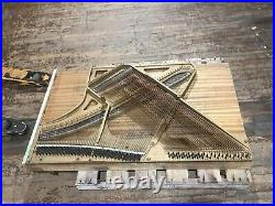 Vintage Mason Hamlin Upright Piano Replacement Back Soundboard Art Harp CAN SHIP