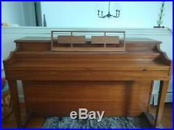 Vintage Mid Century STEINERT & SONS Upright Piano Boston