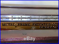 Vintage Rare 1895 Emerson Upright Grand Piano Beautiful Original Condition