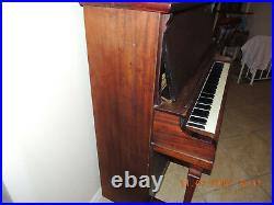 Vintage Upright Piano 1920's Jacobs Brothers from New York Good Condition 55762