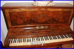 Vintage W G Wernam Upright Piano