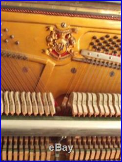 Vtg. Upright piano made in Europe in 1930's