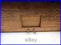 WASHBURN Lyon Healy Upright Piano Arts and Crafts Period Tiger Oak