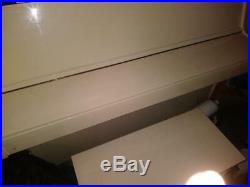 Weber Off White Upright Piano Moving Sale - Great for a church or student