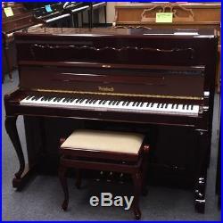 Weinbach 45 Studio upright Piano (Pre-owned) Mfg Czech Republic by Petrof