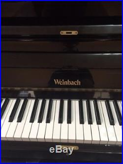Weinbach 48 Upright Piano (Pre-owned) Mfg Czech Republic by Petrof