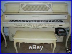 White French Provincial Louis XV Maranz Player Piano Pianocorder