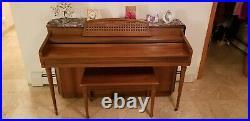 Whitney Kimball Upright Piano Wonderful Condition