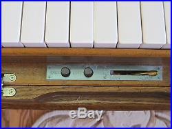 Wurlitzer Casino Electric/Manual Oak Studio Size Player Piano with 62 Music Rolls