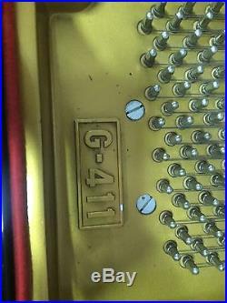 Wurlitzer G-411 baby grand player piano