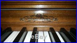 Wurlitzer Piano, Spinett Model #2111 in great shape