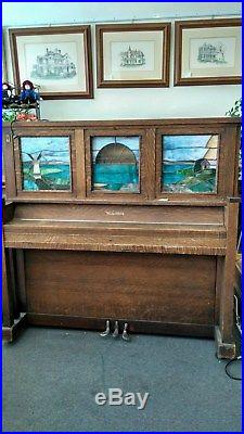 Wurlitzer Player Piano, Coin Operated, Lighted