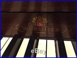 Wurlitzer Spinet Piano Pristine Condition, recently tuned