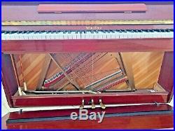 Wurlitzer WP50 Continental Console Polished Cherry Piano