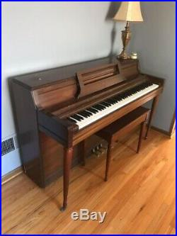Wurlitzer piano With Bench Seat