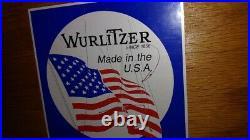 Wurlitzer upright piano (1987) cherry wood finish