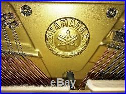 YAMAHA Console Upright Piano, Mahogany, tuned, with bench, can move, Atlanta, GA