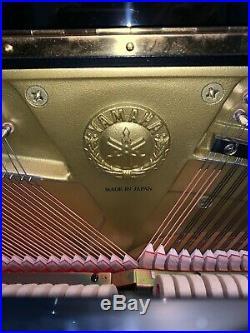YAMAHA DU1A Upright Piano DISKLAVIER 2005 Polished Ebony 48 withBench & MUCH MORE