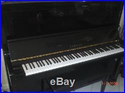 Yamaha Eboney Black Upwright Player Piano With Cd's Beautiful Sounds No Reserve