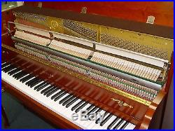 YAMAHA LIGHT CHERRY UPRIGHT PIANO (M 500 QA) With BENCH