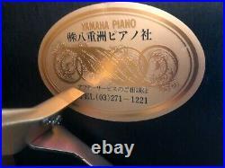 YAMAHA U1 Upright High gloss ebony piano 48 perfect condition