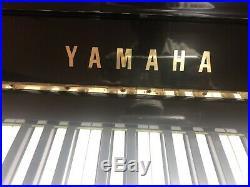 YAMAHA U3 Upright Grand, Ebonized, Tuned, No Rust, Kawai Bench, School Special
