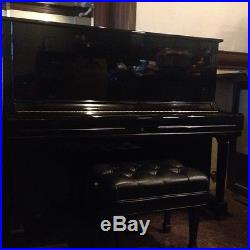 YAMAHA Upright Piano with Concert Piano Bench