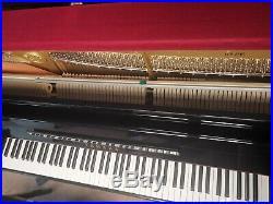 Yamaha B3 Ebony Upright Piano