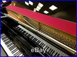 Yamaha B3 Polished Ebony 48 Upright Piano The Indonesian U1 Mfg 2010's