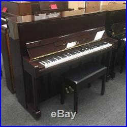 Yamaha B3 Polished Mahogany 48 Upright Piano The Indonesian U1 Mfg 2013
