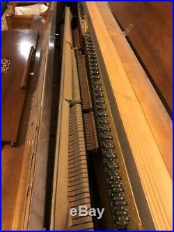 Yamaha Console Upright Piano and Bench